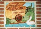 Herman Souer (1931-2015)  -  (Millennium) gevelsteen: 'DE BAKKERSKAR ANNO MM' - Postkaart -  A9665-1