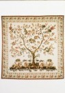Anoniem,  -  Amerikaanse quilt, ca. 1825-1830 - Postkaart -  A9676-1