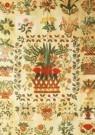 Anoniem,  -  Amerikaanse quilt (detail), 1840-1845 - Postkaart -  A9679-1