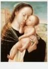 Anoniem  -  Maria met kind / A. Issenbrandt, ca 1530 - Postkaart -  A9696-1