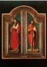 Adriaen Isenbrandt (1485-1551) -  Hieronymus en Johannes de Doper / A. Isenbrandt, 1 - Postkaart -  A9704-1
