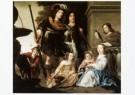 Jacob W. Delff  (1619-1661)  -  Groepsportret van zeven kinderen van Maarten H. Tr - Postkaart -  A9706-1