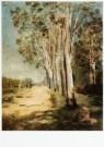 Odilon Redon (1840-1916)  -  Weg te Bievre, ca. 1890 - Postkaart -  A9710-1