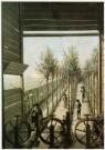 J. Herst  -  Kleingarenbaan in Gouda, 18e eeuw - Postkaart -  A9714-1