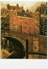 Sal Meijer (1877-1965)  -  Reguliersgracht - Postkaart -  A9720-1