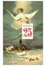 A.N.B.  -  Vredesduif brengt een kerstgroet - Postkaart -  A98022-1