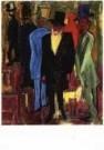 Hendrik Nic.Werkman (1882-1945 -  Ochtendwandeling - Postkaart -  A9819-1