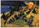 Jan Wiegers (1893-1959)  -  Landschap (Zwitserland) - Postkaart -  A9826-1