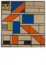 Theo van Doesburg (1883-1931)  -  Definitive design for the Reaper, 1921 - 1922 - Postkaart -  A98636-1