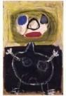 Karel Appel (1921-2006)  -  Little girl - Postkaart -  A9872-1