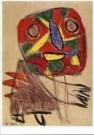 Karel Appel (1921-2006)  -  Vrijheidsschreeuw - Postkaart -  A9878-1
