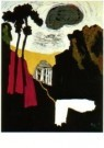 Karel Appel (1921-2006)  -  Shrine in the Japanes - Postkaart -  A9894-1