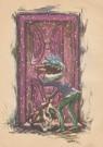 Anonymus  -  Zwarte piet klopt aan - Postkaart -  A99138-1