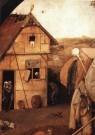 Jheronimus Bosch (1450-1516)  -  Detail van de Marskramer - Postkaart -  A9944-1