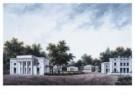 J.D.Zocher (1763-1817)  -  Idee ontwerp villa - Postkaart -  A9950-1
