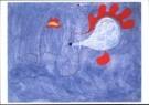 Joan Miro (1893-1983)  -  Schilderij spaanse vla - Postkaart -  A9975-1