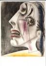 Pablo Picasso (1881-1973)  -  Huilende kop V - Postkaart -  A9980-1
