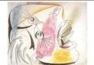 Pablo Picasso (1881-1973)  -  Studie huilende kop - Postkaart -  A9984-1