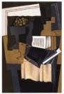 Juan Gris (1887-1927)  -  Karaf met boek - Postkaart -  A9998-1