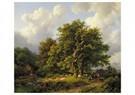 Barend C. Koekkoek(1803-1862)  -  Barend C. Koekkoek / - Postkaart -  ABVB0001-1