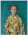 Walter Vaes(1882-1958)  -  Walter Vaes/Kinderportret Jkvr - Postkaart -  ABVB0002-1