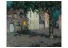 Henri le Sidaner (1862-1939)  -  Pleintje te Cherbourg bij - Postkaart -  ABVB004-1