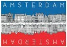Tim Killiam (1947-2014)  -  Opposite sides of the Keizersgracht - Postkaart -  AU0171-1