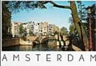 Tim Killiam (1947-2014)  -  Leidsegracht, Amsterdam - Postkaart -  AU0326-1
