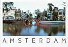 Tim Killiam (1947-2014)  -  Evening Boat Tour, Herengracht, Amsterdam - Postkaart -  AU0345-1