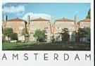 Tim Killiam (1947-2014)  -  Amsterdam School architectuur, H. Ronnerplein, Amst - Postkaart -  AU0350-1