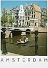 Tim Killiam (1947-2014)  -  Keizersgracht / Leidsegracht, Amsterdam - Postkaart -  AU0619-1