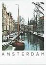 David Warren  -  Leidsegracht, Amsterdam - Postkaart -  AU0662-1