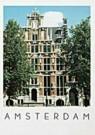 Tim Killiam (1947-2014)  -  House with six heads, Keizersgracht 123, Amsterdam - Postkaart -  AU0694-1
