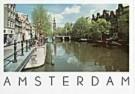 Tim Killiam (1947-2014)  -  Westertoren, seen from the Prinsengracht - Postkaart -  AU0724-1