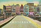 Kay Erickson  -  Bridge near Leliegracht, Amsterdam - Postkaart -  AU0732-1
