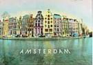 Kay Erickson  -  Keizersgracht Bocht, Amsterdam - Postkaart -  AU0742-1