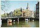 Tim Killiam (1947-2014)  -  Zuiderkerk (South Church), seen from the Klovenier - Postkaart -  AU0756-1