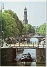 Igno Cuypers  -  Beginning of the Prinsengracht, Amsterdam - Postkaart -  AU0773-1