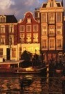 Igno Cuypers  -  Golden Sunset, Amsterdam - Postkaart -  AU0774-1