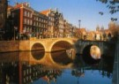 Igno Cuypers  -  Ochtendlicht op de Wallen, Amsterdam - Postkaart -  AU0778-1