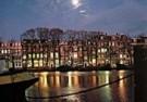 Igno Cuypers  -  Amstel River in moonlight, Amsterdam - Postkaart -  AU0781-1