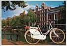 Tim Killiam (1947-2014)  -  White bicycle on the Keizersgracht, Amsterdam - Postkaart -  AU0801-1