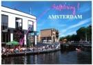 Tim Killiam (1947-2014)  -  Casino Terrace, Singelgracht, Amsterdam - Postkaart -  AU0802-1