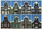 Tim Killiam (1947-2014)  -  Dutch Gables: 8 Bell-gables / Klokgevels - Postkaart -  AU0816-1