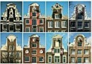 Tim Killiam (1947-2014)  -  Eight neck-gables (halsgevels), Amsterdam - Postkaart -  AU0817-1