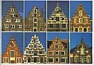 Tim Killiam (1947-2014)  -  Dutch Gable-Types: 8 Step-gables - Postkaart -  AU0818-1