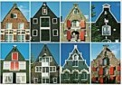 Tim Killiam (1947-2014)  -  Eight spout-gables (tuitgevels) Amsterdam - Postkaart -  AU0819-1