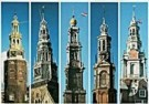 Tim Killiam (1947-2014)  -  5 Steeples, Amsterdam - Postkaart -  AU0821-1