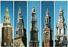 Tim Killiam (1947-2014)  -  5 Steeples, Amsterdam - Postkaart -  AU0821-1