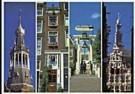 Tim Killiam (1947-2014)  -  Four Narrow Scenes of Amsterdam - Postkaart -  AU0822-1